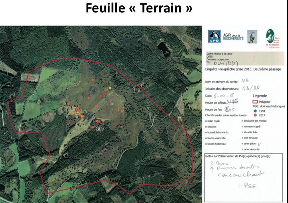 Feuille prospection